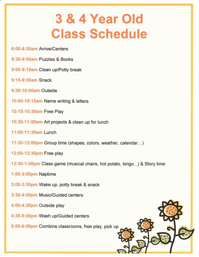 Daycare Daily Sheets For Toddlers 9 Best Images Of